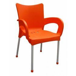 MEGA PLAST krzesło Smart MP1273, pomarańczowe (8606006429016)