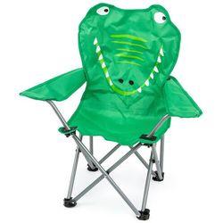 Dziecięce krzesełko składane Hatu, krokodyl, 57 x 60 x 32 cm