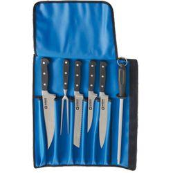 Zestaw noży kutych z pokrowcem | STALGAST, 200009