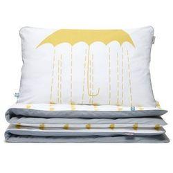 Pościel dziecięca parasole żółty m -  wyprodukowany przez Mumla