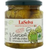 Karczochy w oliwie z oliwek 280 g - Laselva
