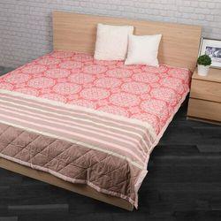 Narzuta na łóżko Morbido łososiowy, 240 x 200 cm, 207901