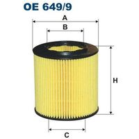 Filtr oleju OE 649/9 (5904608106490)