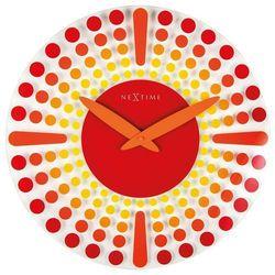 Nextime Zegar ścienny dreamtime czerwony