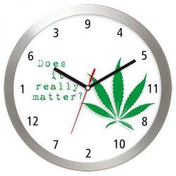 Zegar aluminiowy Czy to ma znaczenie?, AL2412MA