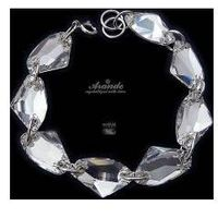 Arande Swarovski bransoletka crystal galactic srebro
