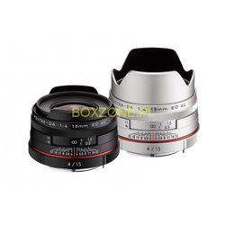 Obiektyw HD PENTAX-DA 15mm F4 ED AL Limited z kategorii Obiektywy fotograficzne