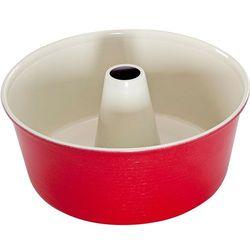 Nordic ware Forma do babki z kominem czerwona (50922_rd)