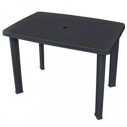 |elior Praktyczny stół ogrodowy imelda - antracytowy