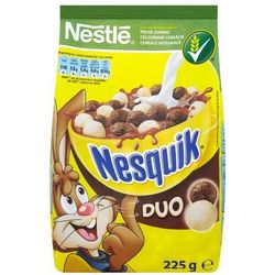 Nestle Nestlé nesquik duo płatki śniadaniowe 250 g