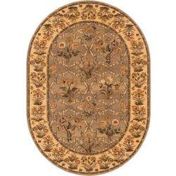 Dywan isfahan olandia oliwka (owal) 140x190 marki Agnella