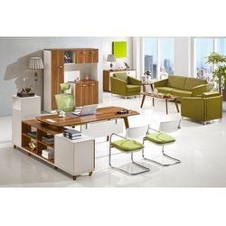 Nowoczesne biurko z pomocnikiem EVOLUTIO A109, A-109 180