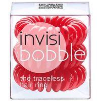 Invisibobble  gumka do włosów czerwona 3 sztuki
