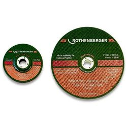 Rothenberger Tarcza tnąca profi metal prosta 125 x 3 x 22 - tarcza tnąca profi metal prosta 125 x 3 x 22