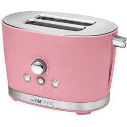 Clatronic toster z dwiema szczelinami ta 3690, 850 w, retro, różowy (4006160638479)