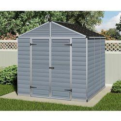 Palram Domek narzędziowy  skylight 8x8 szary - transport gratis!, kategoria: altany i domki ogrodowe