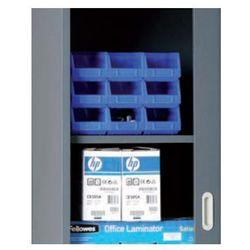 Półka do szafy z drzwiami żaluzjowymi, 1200 x 450 mm, antracyt