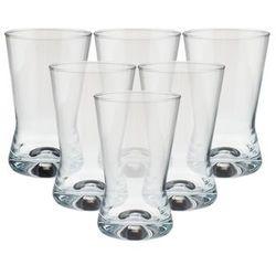 KROSNO X-LINE Szklanki do napojów 200 ml 6 sztuk