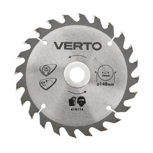 Tarcza do cięcia VERTO 61H124 190 x 30 mm do pilarki widiowa (tarcza do cięcia)
