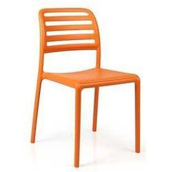 Krzesło ogrodowe na balkon, taras Nardi Costa Bistrot pomarańczowe