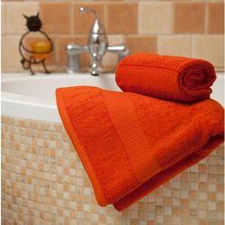 Dekoria Ręcznik Evora pomarańczowy, 70x140 cm