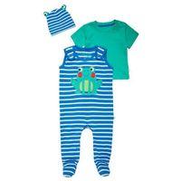 Frugi SET Śpioszki sail blue z kategorii body niemowlęce