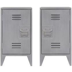 zestaw szafek nocnych industrialnych hap6124 marki Hk living