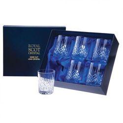Royal Scot Crystal Szklanki London do Whisky 210ml 6szt., LONB6WH