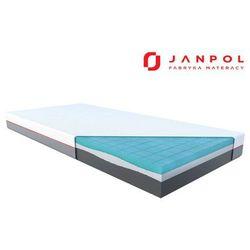 Janpol libera – materac piankowy, rozmiar - 80x190, pokrowiec - grey wyprzedaż, wysyłka gratis