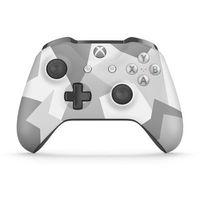 Kontroler bezprzewodowy dla konsoli Xbox One wersja specjalna Winter Forces (biało-szary), kup u jednego z pa