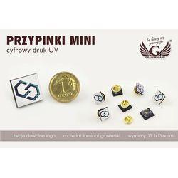Przypinki/Pinsy mini z Twoim logo - kolorowy druk UV - PS010, kup u jednego z partnerów