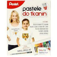 Zestaw pastele do tkanin + długopis + koszulka dziecięca marki Pentel