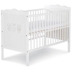 Klupś marsell łóżeczko niemowlęce 120x60 rabat dla każdego