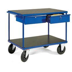 Wózek warsztatowy, 2 szuflady, 350 kg, 1000x700x870 mm