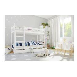 Łóżko piętrowe Michaś z materacami, 3044