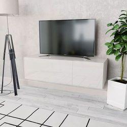 szafka pod tv, 120x40x34 cm, płyta wiórowa, biała marki Vidaxl