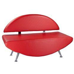 Kanapa do poczekalni carini bd-6710 czerwona marki Beauty system
