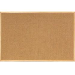 Tablica jutowa 2x3 w ramie drewnianej 80x60 cm