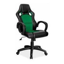 Fotel q-103 czarno-zielony - zadzwoń i złap rabat do -10%! telefon: 601-892-200 marki Signal meble