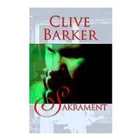 SAKRAMENT Clive Barker, oprawa miękka