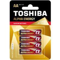 TOSHIBA Bateria Alpha Energy AA LR6 TOSHIBA LR6 ALPHA ALKALINE AA