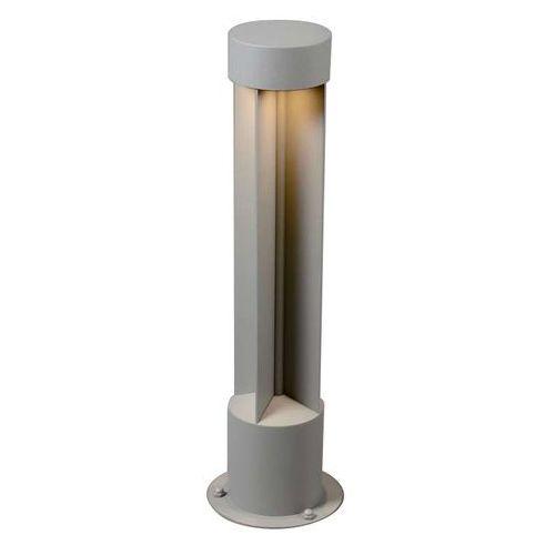 Lampa zewnętrzna Reda okrągła szara z kategorii lampy ogrodowe