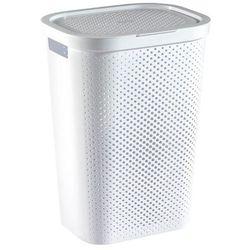 Kosz na bieliznę Curver Infinity Recycled 60 l biały (3253924754178)