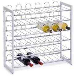 Metalowy regał na wino - 36 butelek, ZELLER (4003368273600)