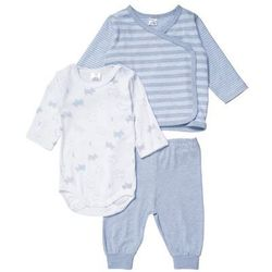 Kanz SET Kardigan light blue melange