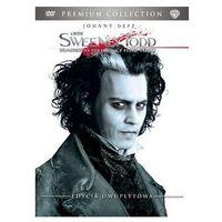 Galapagos films Sweeney todd: demoniczny golibroda z fleet street (2 dvd) premium collection  7321908211750