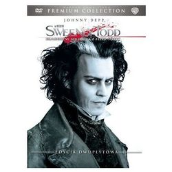 Galapagos films Sweeney todd: demoniczny golibroda z fleet street (2 dvd) premium collection  7321908211750