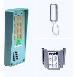 Zestaw domofonowy jednorodzinny - bezawaryjny - 254 kody - furtka i brama marki Radbit