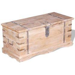 Vidaxl skrzynia z drewna akacjowego (8718475529262)