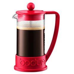 Zaparzacz do kawy brazil, 3 fliliżanki, 0.35 l, czerwony - czerwony marki Bodum